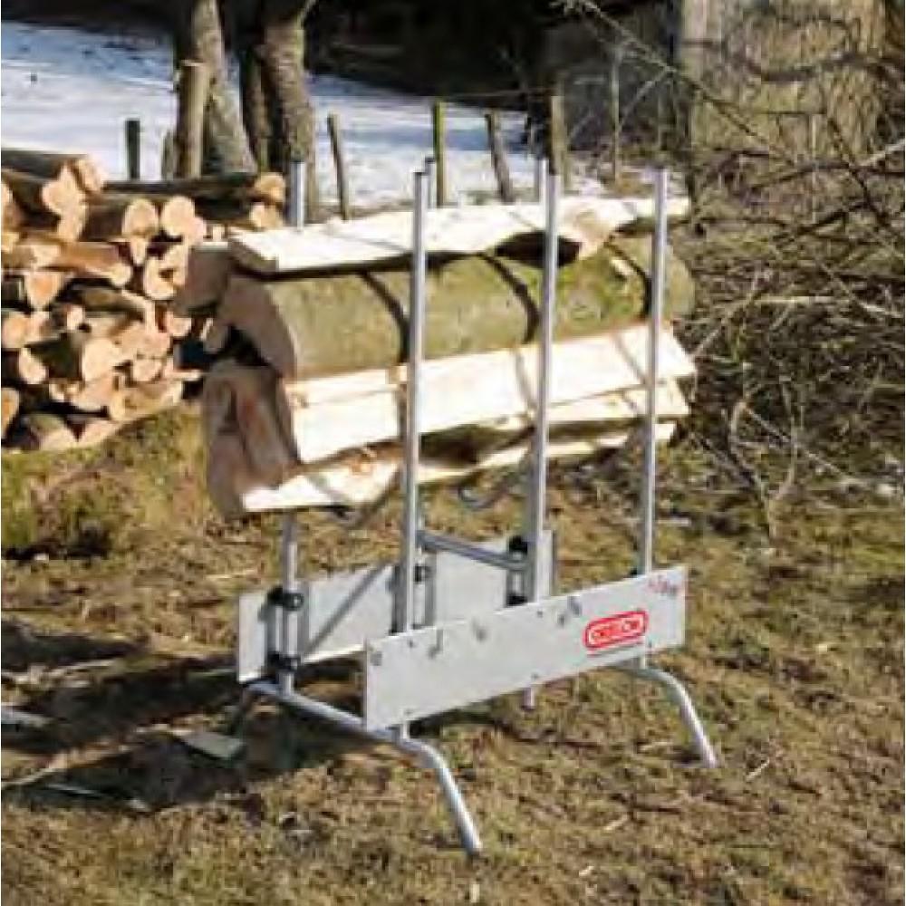 Козлы для дров бензопилой своими руками